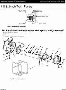 537061 3 Amt 2 Inch Trash Pump Repair Parts User Manual