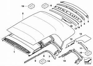 Mini R52  Convertible  Cooper S  Ece  Sliding Roof Folding Top