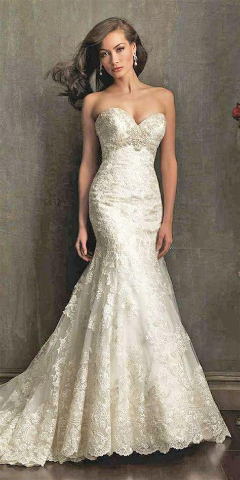 gorgeous sweetheart wedding dresses  brides