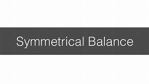 Design principles | symmetrical balance