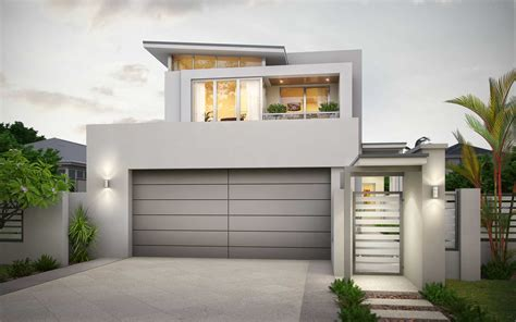 house plans for narrow lots with front garage narrow block house designs for perth wishlist homes