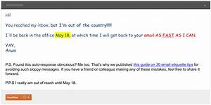 7 useful creative out of office replies for your next With vacation email message template