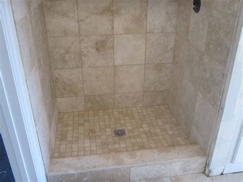 bathroom tile ideas for showers travertine tile bathroom with heated floor