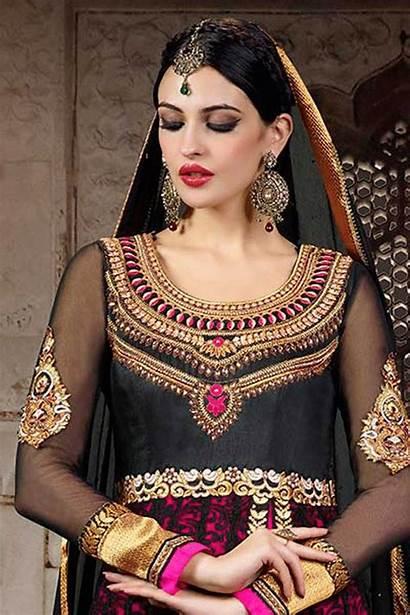 Blouse Indian Designs Dresses Bridal Silk Pink