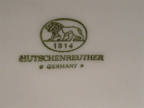 Hutschenreuther Germany 1814 by Dating A Hutschenreuther Still Need Help Asked By