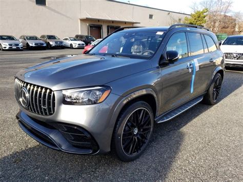 Explore the amg gls 63 suv, including specifications, key features, packages and more. New 2021 Mercedes-Benz AMG GLS 63 4MATIC SUV | Gray 21-530