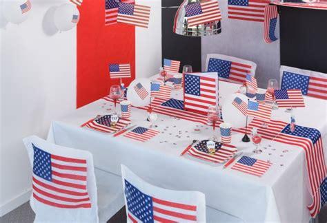 decoration americaine pour chambre décoration sur le thème usa articles de fête