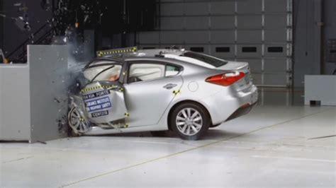 Terrifying car crashes: New crash test revealed by