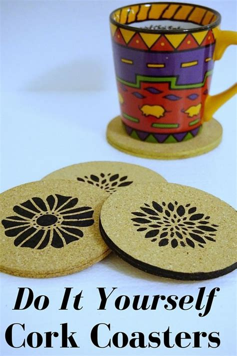 do it yourself coasters do it yourself cork coasters crafts cork coasters and money