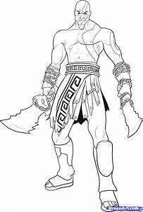 Colorir kratos - Colorir kratos