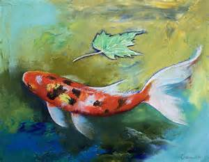 Fish Paintings by Famous Artists