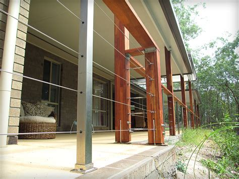Insulated Patio attached to the house with large timber