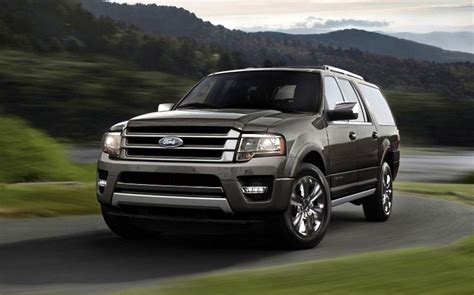 Ford Suv 2015 by 2015 Ford Expedition Ecoboost Suv Gets Smaller Engine