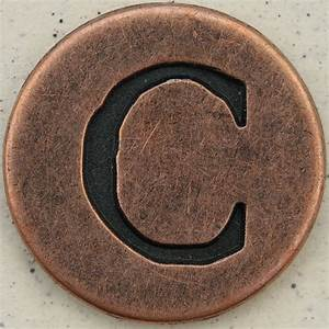 copper uppercase letter c leo reynolds flickr With copper letters