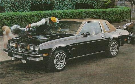 On Back 1976 Pontiac Sunbird 2 Door