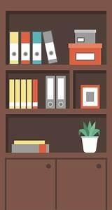 Bookshelf Cartoon Images - Shelf Design Ideas