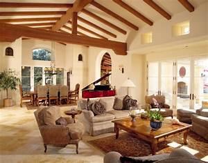 Mediterraner Stil : wohnzimmer im mediterranen landhausstil wohnzimmer im ~ Pilothousefishingboats.com Haus und Dekorationen