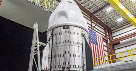 SpaceX Crew Dragon cleared for launch to space station ...
