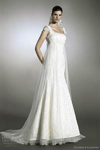 Empire style wedding dresses with sleeves for Empire style wedding dress