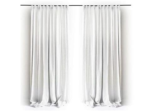 Curtain, Pinch Pleat Curtains, Linen Drapes, Blackout