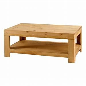 Table Basse Pin : table basse pin massif 120 cm colorado grenier alpin ~ Teatrodelosmanantiales.com Idées de Décoration