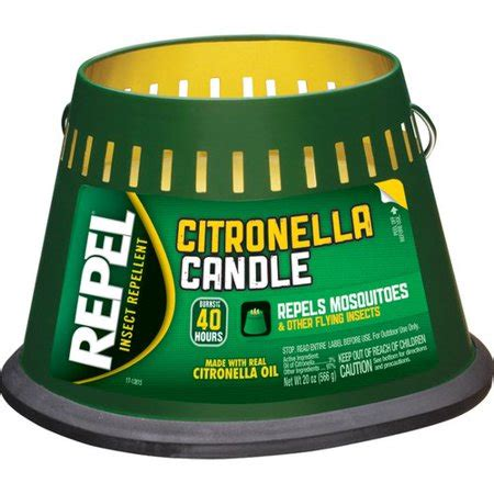 Candele Citronella by Repel Citronella Insect Repellent Candle 20 Ounce