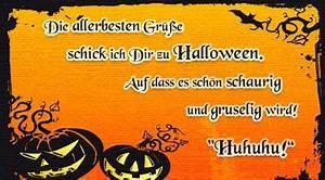 Gruselige Halloween Sprüche : schaurig gruselig k rbis gru karten e cards postkarten halloween ~ Frokenaadalensverden.com Haus und Dekorationen