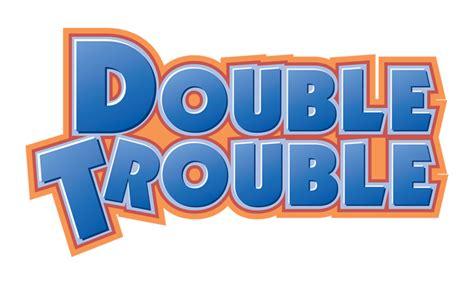 typography exercise double trouble by demoverexeno on deviantart