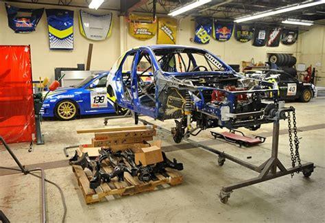 rally truck build vermont sportscar the subaru trax sti sleigh
