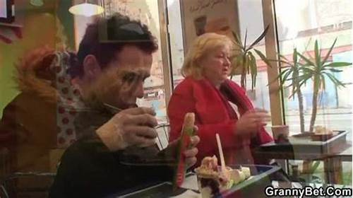 Old Stud Picks Up Strong Grandma In Cafe #Horny #Grandma #Lured #Into #Sex #Xxxbunker