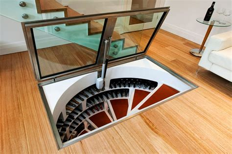 spiral wine cellar in kitchen floor great underground design of spiral cellars signature cellars 9374