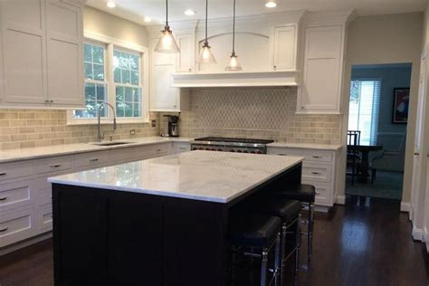 galley kitchen images encore ceramics the 3x8 field tile in silver crackle is 1159