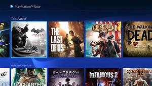 Playstation Now Ps Now Subscription For 500 Ps4 Ps3 Games