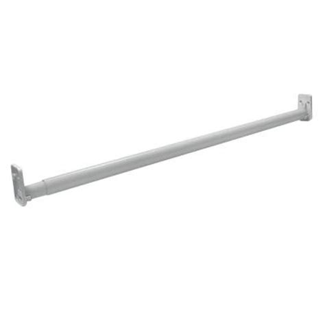 closetmaid selectives brushed nickel 30 in 48 in
