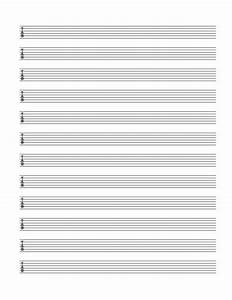 Blank Guitar Tablature Sheets Download A Free Pdf At Http