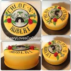 guns and roses for my colleague my cakes