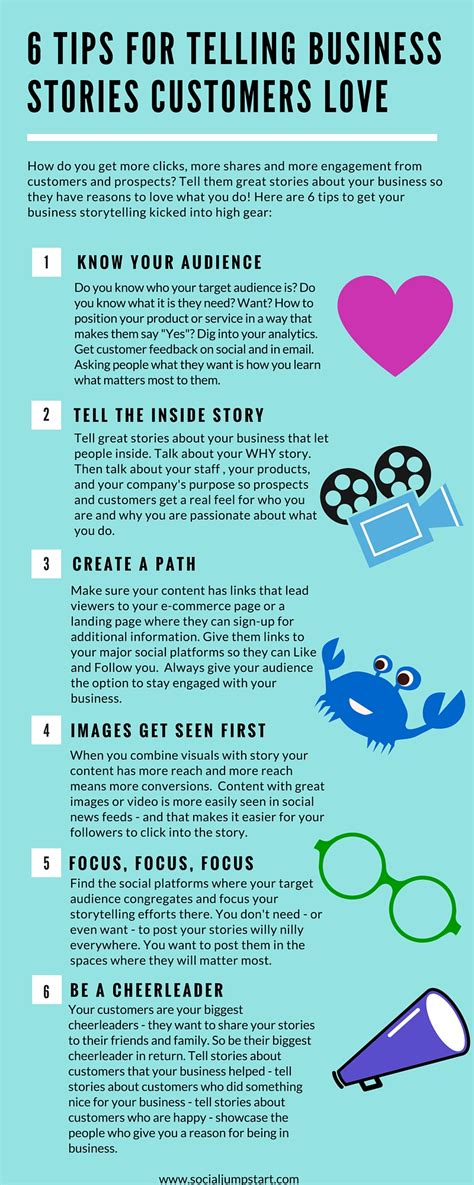 6 Tips For Telling Business Stories Customers Love