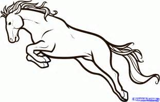 How to Draw Cartoon Horse Drawings