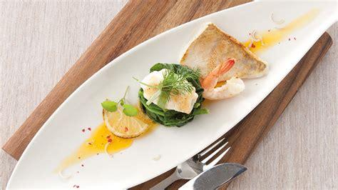 Kulinarisches Fisch Trio