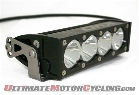 baja designs high speed onx led light bar for adenture bikes