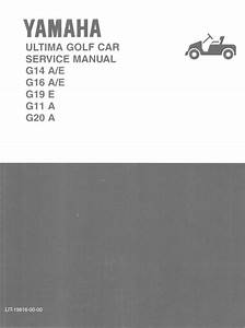 Yamaha Golf Cart G11 G14 G16 G19 G20 Service  U0026 Parts