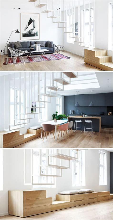 Treppen Für Kleine Räume by 13 Treppe Design Ideen F 252 R Kleine R 228 Ume Dieser