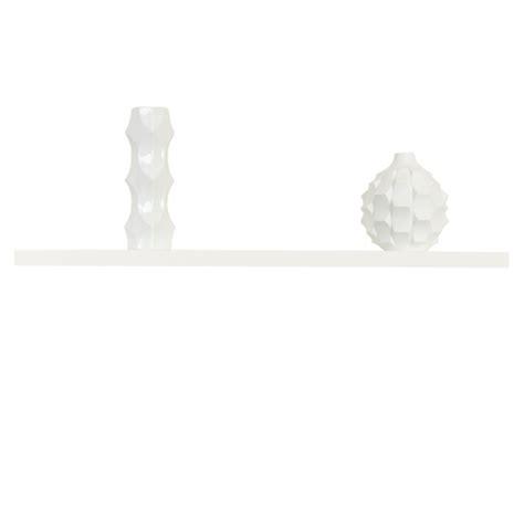 wandregal ohne sichtbare halterung wandboard schwebend weiss hochglanz ca 90 cm