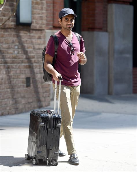airport ansari aziz outfits wear gq trip mens loafer move modern upcoming every clothing