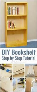 Diy, Basic, Bookshelf