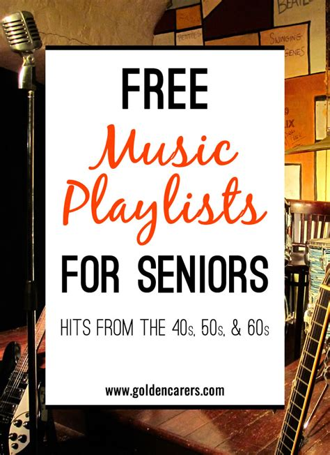 playlists   elderly