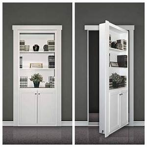 Door Bookcase & Secret Bookcase Door (master To 1st