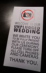 Setting Up Phone How To Gracefully Unplug Your Wedding Preowned Wedding