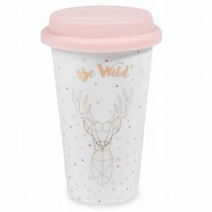 Tasse à Café Maison Du Monde : mug de voyage en porcelaine be wild maisons du monde ~ Teatrodelosmanantiales.com Idées de Décoration