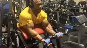 Watch  5x Mr Olympia Phil Heath Training Biceps Two Weeks Out From 2016 Olympia